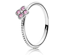 Kombinierbarer Ring Rosafarbene orientalische Blüte Pink 191001PCZ-52