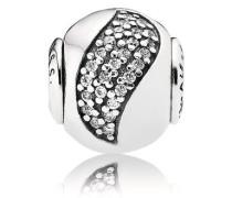 Charm   Glück (Happiness)  Silber Cubic Zirconia 796021CZ