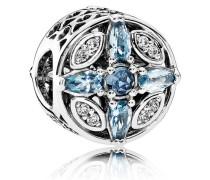 Eiskristalle Charm Blau Verschiedene Steine 791995NMBMX