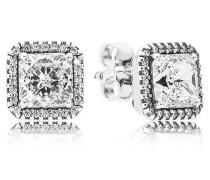Damen Ohrstecker Zeitlose Eleganz Silber Cubic Zirconia onesize 290591CZ