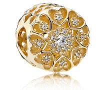 Charm  Herzen    Gold Cubic Zirconia 750841CZ