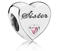 Sister-Herz Charm 791946PCZ