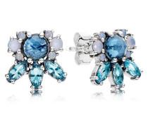 Damenohrstecker Eiskristalle Blau Silber Kristall onesize 290731NMBMX