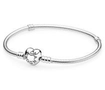 Damenarmband Moments  Herz-Verschluss Silber 16 cm 590719-16