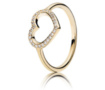 Ring Erobertes Herz 150179CZ-48