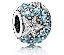 Seestern Charm Blau Cubic Zirconia 791905CZF