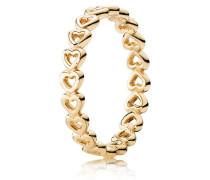 Kombinierbarer Ring  Verbundene Liebe Gold 150177-48