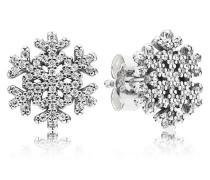 Damen Ohrstecker Eisstern Silber Cubic Zirconia onesize 290589CZ