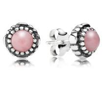 Ohrstecker  Opal Silber Pink Opal 290543POP