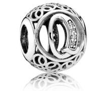 Damen Charm Vintage V Silber Cubic Zirconia onesize 791861CZ