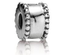 Rundungen Clip Silber 790267