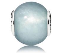 Charm   Loyalität (Loyalty)  Silber Blau Aquamarin 796005AQ