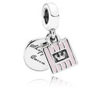 Charm  Shopping Queen  Silber Pink 791985EN40