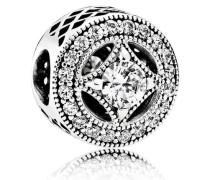Charm  Vintage Zauber  Silber Cubic Zirkonia 791970CZ