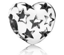 Charm  Sternklares Herz  Silber 791393