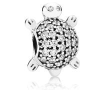 Charm  Meeres-Schildkröte  Silber Cubic Zirconia 791538CZ