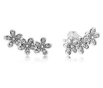 Damenohrstecker Glanzvolle Gänseblümchen Silber onesize 290744CZ