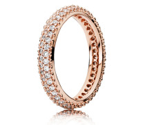 Kombinierbarer Ring  Funkelnde Treue  Rose 180909CZ-48