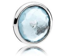Damen Medaillon-Elemet für Medaillon-Halskette Tröpfchen Silber onesize 792175NAB