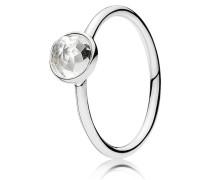 Kombinierbarer Ring  April Tröpfchen  Silber 191012RC-48