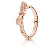 Kombinierbarer Ring  Schleife  Rose 180906CZ-48