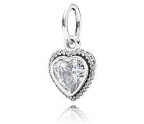 Damenkettenanhänger Liebesbund Silber Cubic Zirconia onesize 390366CZ