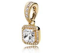 Damenkettenanhänger Zeitlose Eleganz Gold Cubic Zirconia onesize 350180CZ