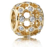 Charm  Im Rampenlicht  Gold Cubic Zirconia 750825CZ
