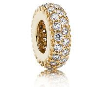 Charm  Pavé-Inspiration Zwischenelement Gold Cubic Zirconia 750835CZ