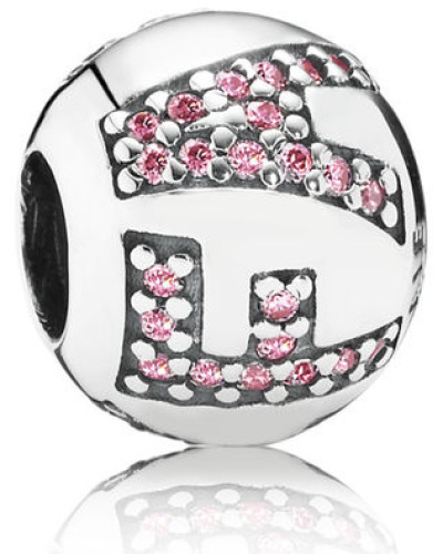 Damen Charm Faith Pink Silber Cubic Zirconia onesize 791417PCZ