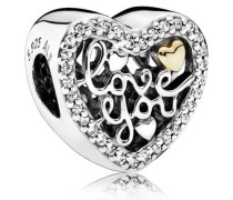 Love You Charm Cubic Zirconia 792037CZ