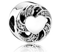 Charm  Liebesband  Silber Cubic Zirkonia 791976CZ