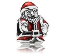 Damen Charm Weihnachtsmann Rot Silber onesize 791231ENMX