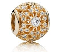 Damen Charm Innerer Glanz Gold Cubic Zirconia onesize 750838CZ