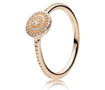 Damen Ring Strahlende Eleganz Gold 48 150184CZ-48