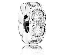 Charm  Verführerische Kreise Zwischenelement Silber Cubic Zirkonia 792027CZ