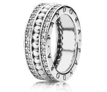 Kombinierbarer Ring  Logo  Silber 190962CZ-48