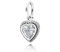 Kettenanhänger  Liebesbund Anhänger Silber Cubic Zirconia 390366CZ