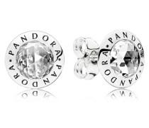 Damenohrstecker Logo Silber onesize 296216CZ