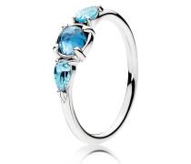 Ring Eiskristalle Blau 191016NMB-48