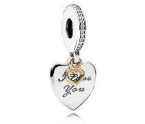 Love You Forever Charm-Anhänger Cubic Zirconia 792042CZ