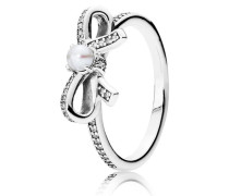 Ring  Perl-Schleifchen  Silber 190971P-48, Ring  Perl-Schleifchen  Silber 190971P-50, Ring  Perl-Schleifchen  Silber 190971P-52, Ring  Perl-Schleifchen  Silber 190971P-54, Ring  Perl-Schleifchen  Silber 190971P-56, Ring  Perl-Schleifchen  Silber 190971P-58, Ring  Perl-Schleifchen  Silber 190971P-60