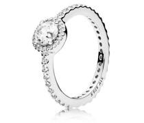 Damenring Klassische Eleganz Silber 48 190946CZ-48