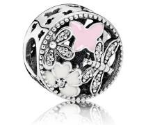Charm  Frühlingserwachen  Silber Pink Cubic Zirconia 791842ENMX