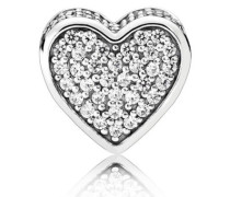 ESSENCE Damen Charm Love (Liebe) Silber onesize 796084CZ