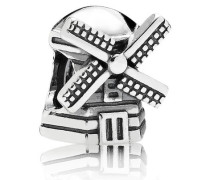 Damen Charm Windmühle Silber onesize 791297