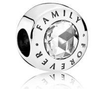 Familie über alles Charm Cubic Zirconia 791884CZ