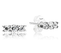 Damenohrstecker Funkelnde Eleganz Silber Cubic Zirconia onesize 290725CZ
