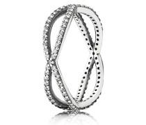 Kombinierbarer Ring  Lebenslinien  Silber 190930CZ-48