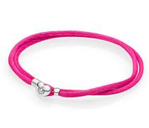 Armband Armband Cord pink zweifach gewickelt Pink 590749CPH-S1